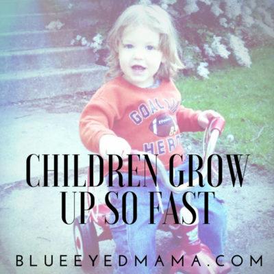 children grow