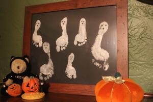 Ghost foot print