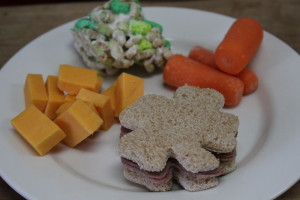 Shamrock Sandwiches