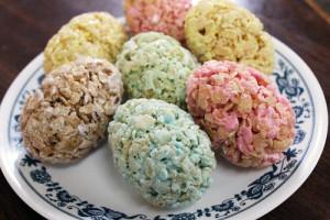rice krispie eggs