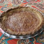 Maple Pie with Walnut Crust
