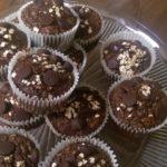 Yummy Oatmeal Chocolate Muffins